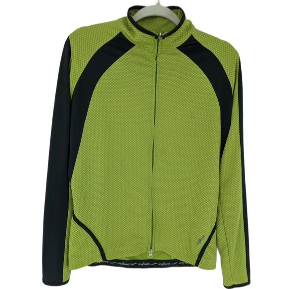 Shebeest Full Zip Cycling Running Jacket Large